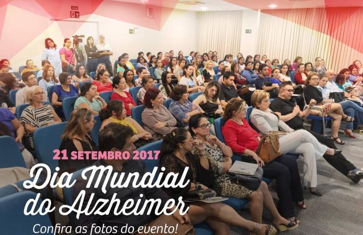 Confira fotos do evento em comemoração do Dia Mundial do Alzheimer