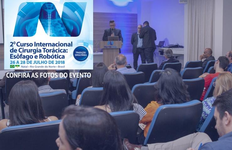 2º Curso Internacional de Cirurgia Torácica: Esôfago e Robótica